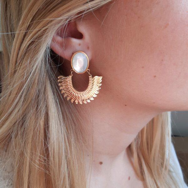 Boucles d'oreilles pendante Esmé
