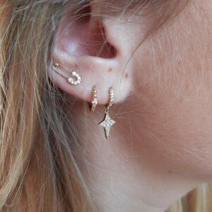 Boucles d'oreilles Clara