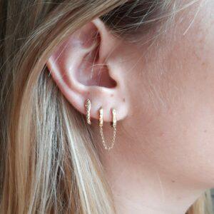 Boucle d'oreilles Romane
