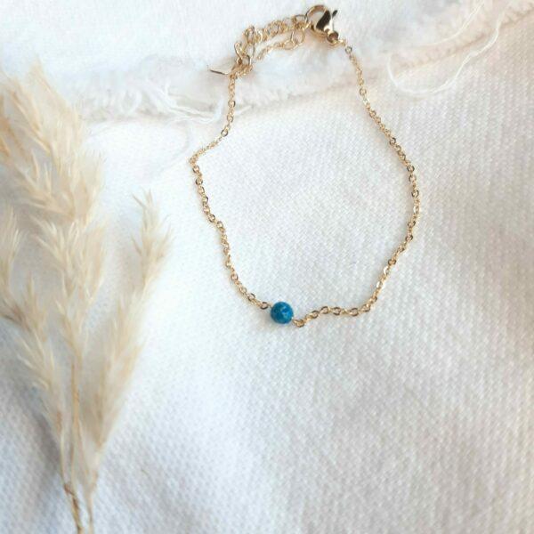 Bracelet Zoé turquoise